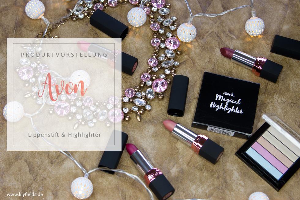 Avon - TRUE COLOUR Luminous Velvet - Matter Lippenstift & Magical Highlighter