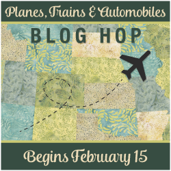 Island Batik Planes, Trains & Automobiles Blog Hop