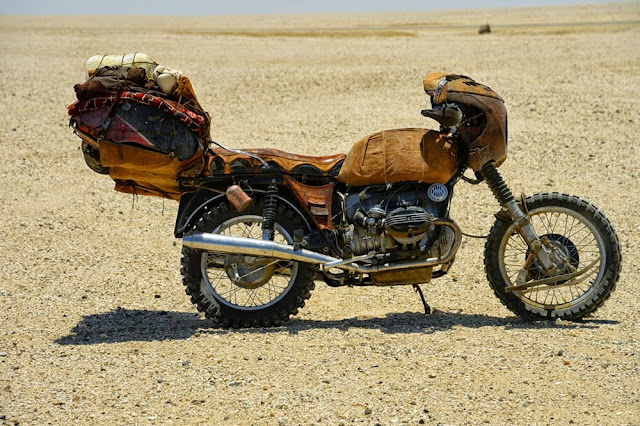 Motorcycle from Mad Max 13