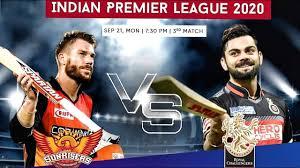 RCB vs SRH highlights, 3rd match, IPL 2020, Chahal changed the match