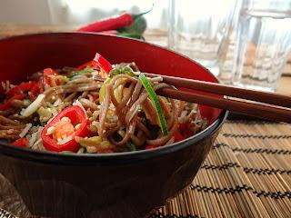 Quick healthy dinner fresh Zucchini Spaghetti