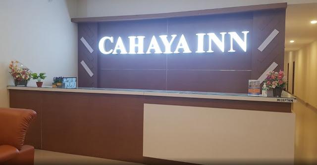 Lobby Hotel Cahaya Inn di batulicin