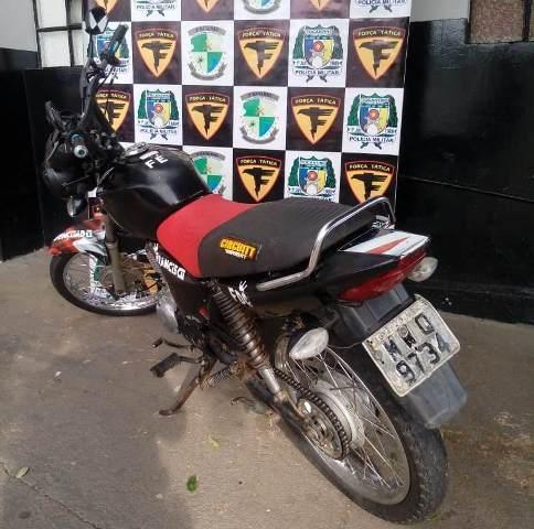 PM apreende menor com motocicleta furtada/roubada em São Sebastião
