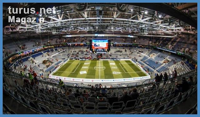Foto SAP Arena in Mannheim Bilder von Hallenfußball from sap arena bilder