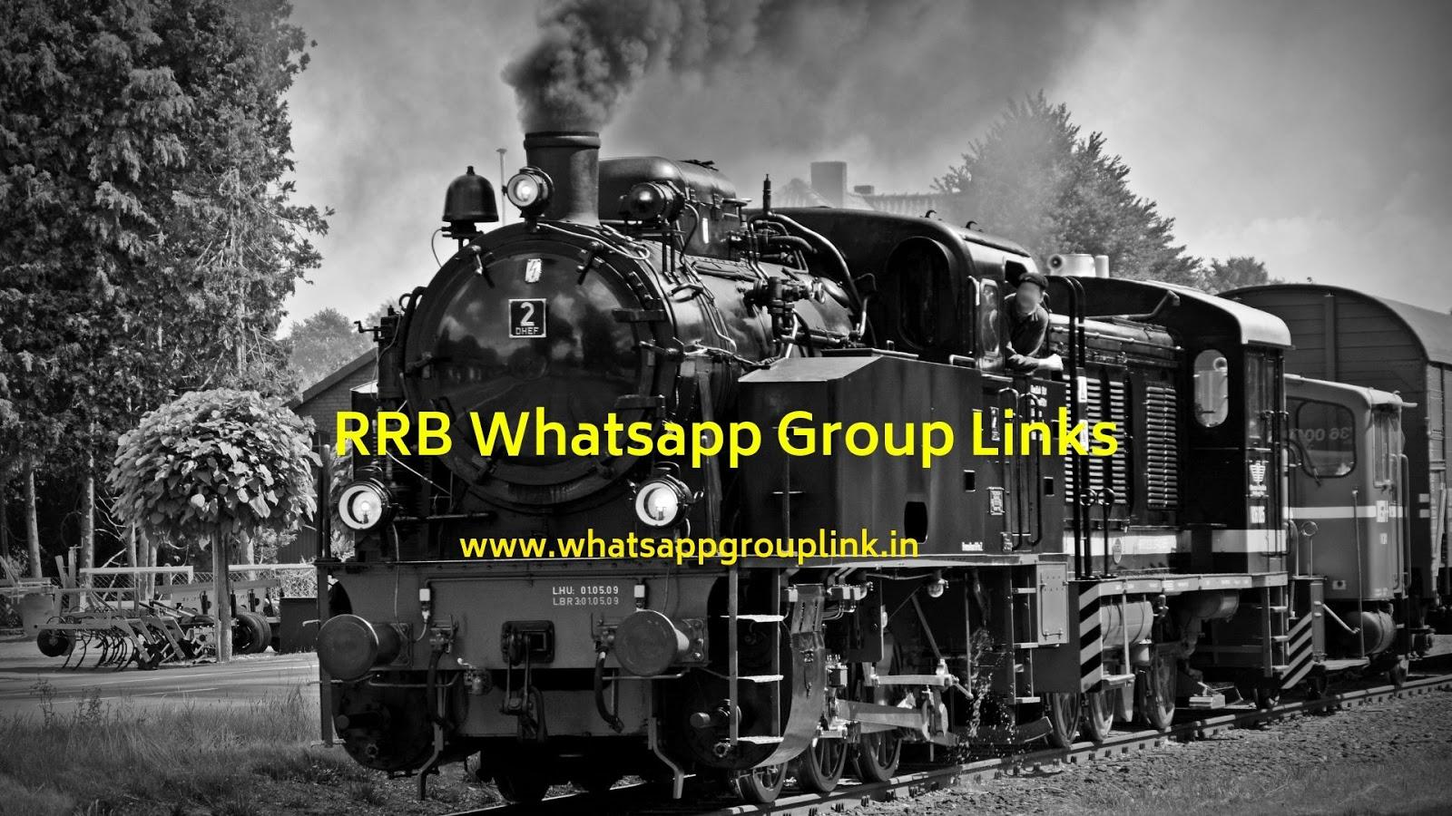 Whatsapp Group Link: RRB Whatsapp Group Links