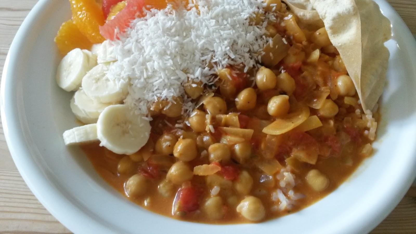 My Mommy's Corner: Indisk curry med kikærter