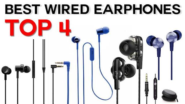 Top 4 Buy Best Wired Earphones In India
