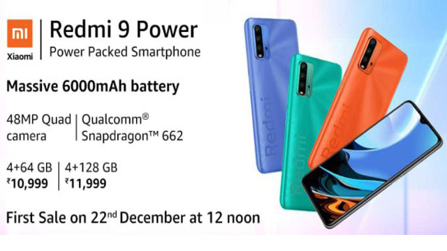 Redmi 9 Power Specifications, Expected Price, News, Reviews