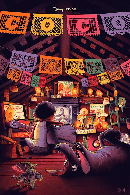 Cesar Moreno Coco Mondo Poster