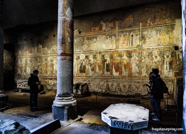 Basílica de Santa Maria Antiqua, Fórum Romano