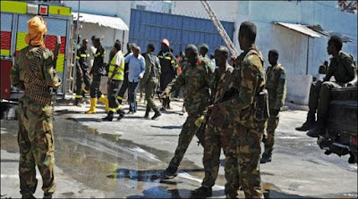 Somalia Armed Med Attacked On The Hotel Seven Killed