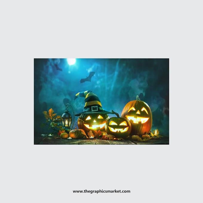 Hallooween Desktop HD Wallpaper | Free Download
