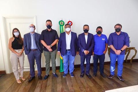 Prefeito Francisco Pinheiro e governador Flávio Dino celebram parceria e anunciam obras para Poção de Pedras