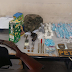 Operação termina com apreensão de armas, drogas e um traficante morto