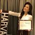 Deniece Cornejo announces perfect score at Harvard University exam