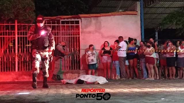 Jovem sai para negociar moto e é executado com 10 tiros no Renascença I em Teresina