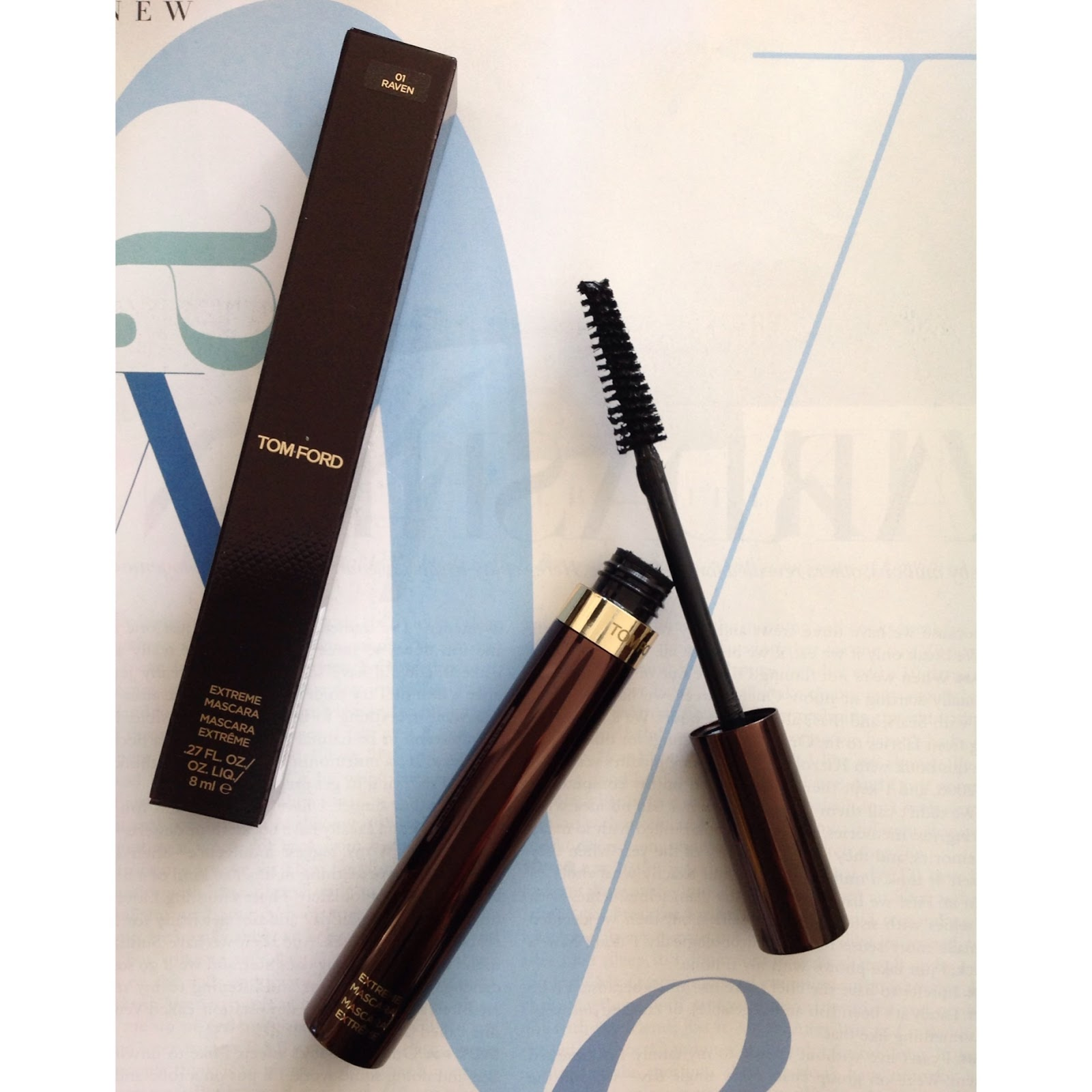 8c529e3df45 Tom Ford Extreme Mascara in Raven | lucinda freya | Bloglovin'