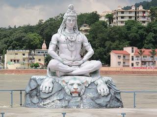 Lord Shiva image in uttarakhand