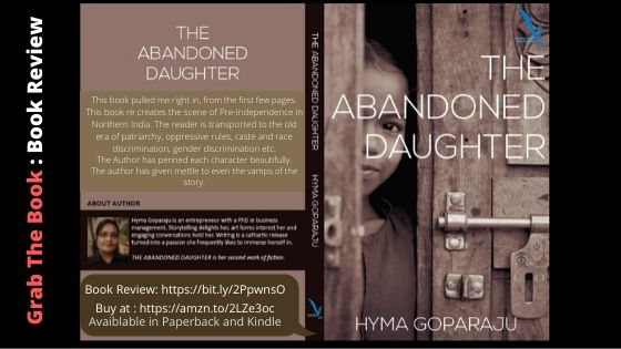 Book: The Abandoned Daughter by Hyma Goparaju