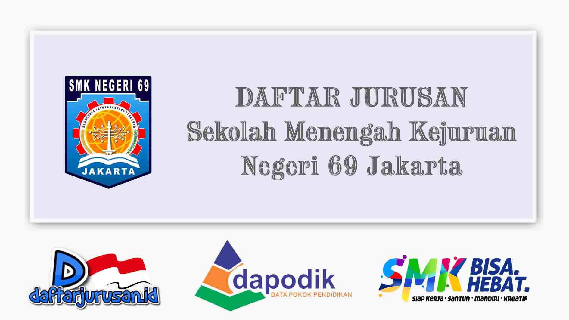 Daftar Jurusan SMK Negeri 69 Jakarta Timur