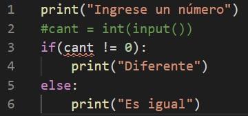 Comentar código en Python