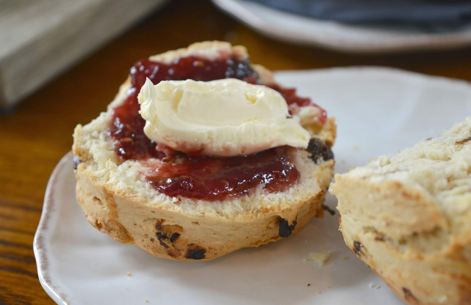 St Mary's Inn Northumberland - Rustic Afternoon Tea - Scone