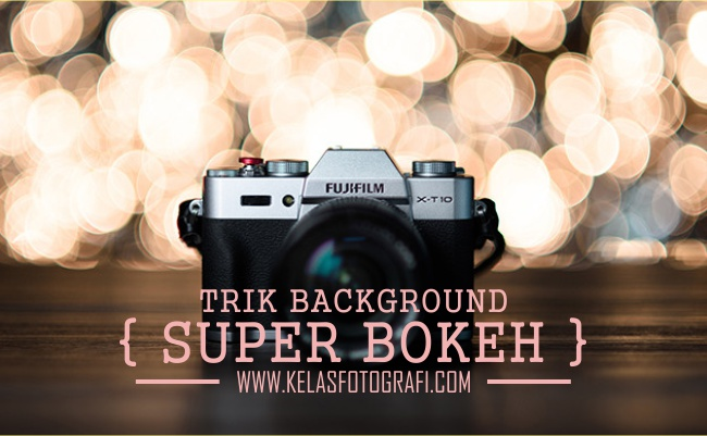 Trik Membuat Background Super Bokeh Menggunakan Aluminium Foil