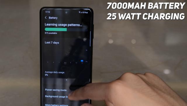 Samsung Galaxy F62 đánh giá pin
