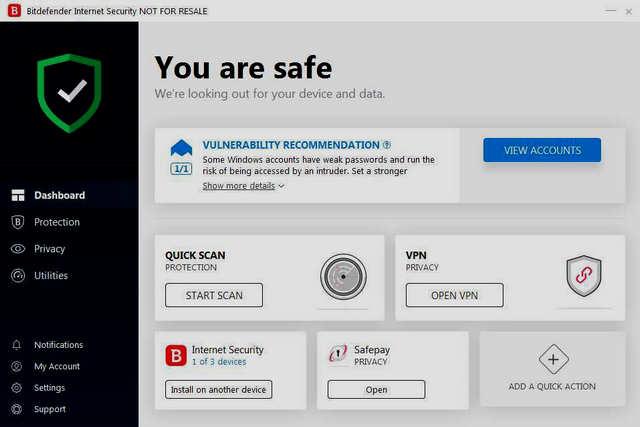 برنامج BitDefender Internet Security 2019 مجاني لمدة 6 أشهر