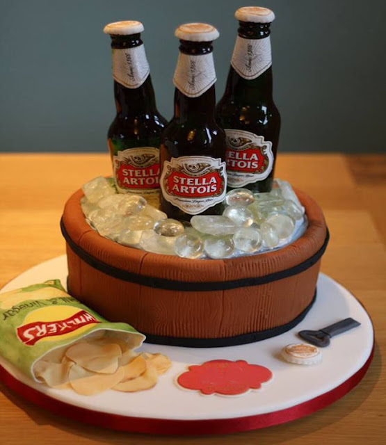 Bánh sinh nhật cho fan nhậu nhẹt