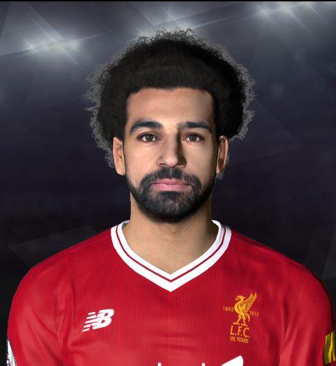 PES 2017 M. Salah Face by Abdo Mohamed Facemaker