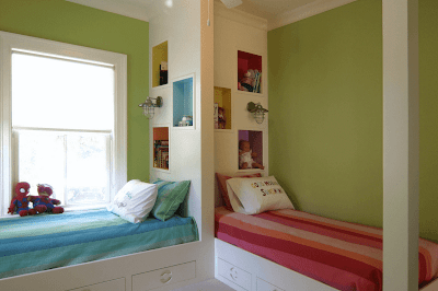 Creative Shared Bedroom for Kids image 10