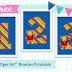 Free! Daniel Tiger 5x7 Number Print