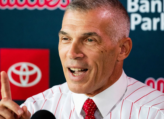 Phillies manager Joe Girardi