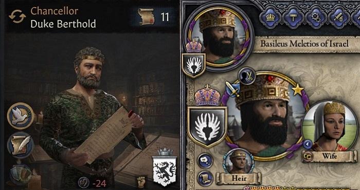 Crusader Kings 3 vs 2 - Graphics