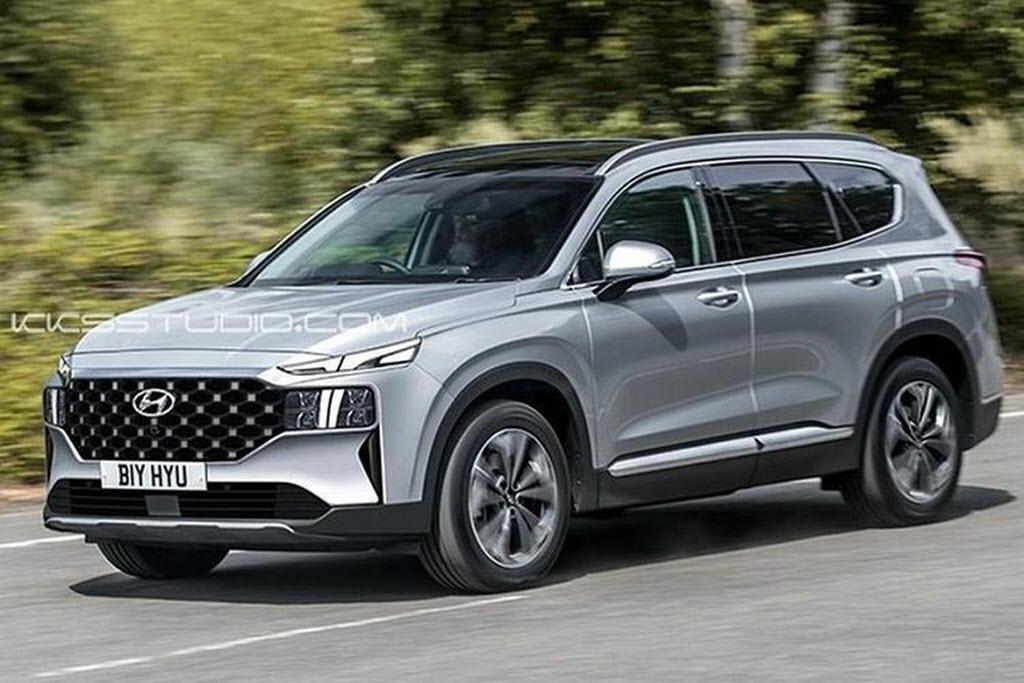 Ngất ngây trước Hyundai Santa Fe 2020 độ giống hệt Lamborghini Urus