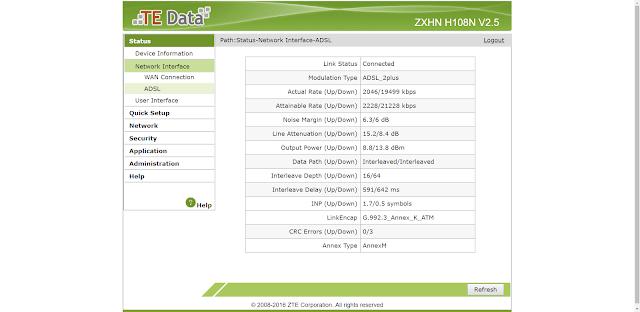 zxhn h108n