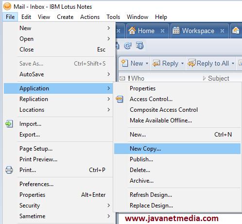 Cara Backup Email Lotusnotes ke Local