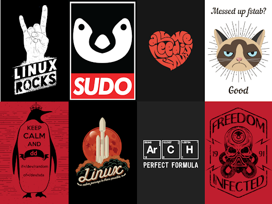 High Resolution Linux Images You Can Use On Custom T-Shirts, Hoodies, Stickers Or Posters