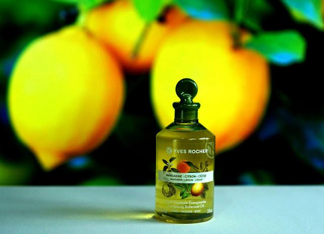 שמן גוף מנדרינה לימון איב רושה