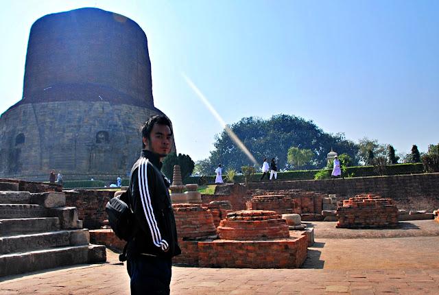 Marky Ramone Go in Sarnath