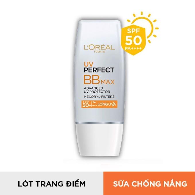 Kem chống nắng trang điểm L'Oréal Paris UV Perfect BB Max SPF50+ PA++++