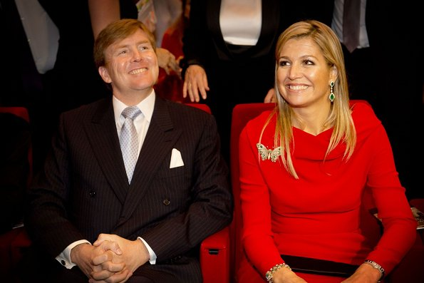 Crown Prince Willem-Alexander and Crown Princess Maxima visits Salt Galate in Istanbul. 400 years relationship between The Netherlands and Turkey