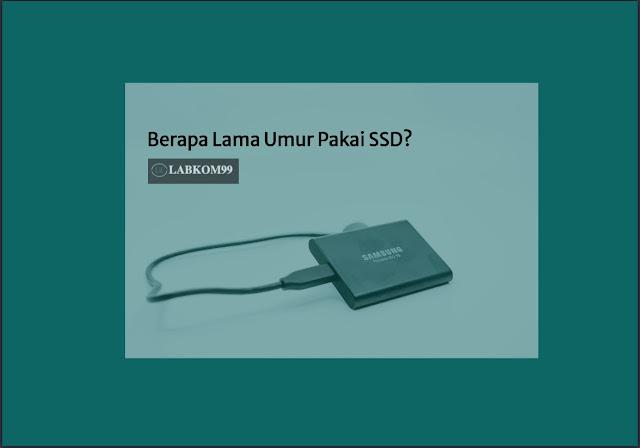 Berapa Lama Umur Pakai SSD?