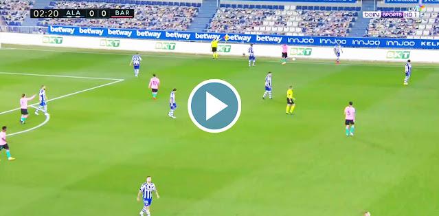 Deportivo Alavés vs Barcelona Live Score