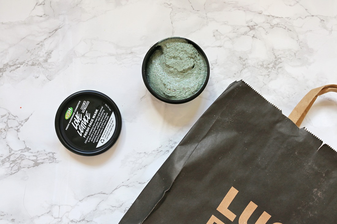 LUSH Love Lettuce Fresh Face Mask Review