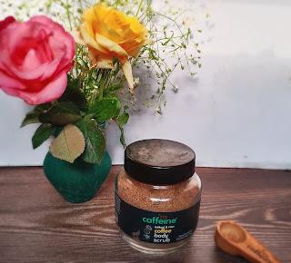 Scrub, coffee, coconut oil, cleansing, glowing skin