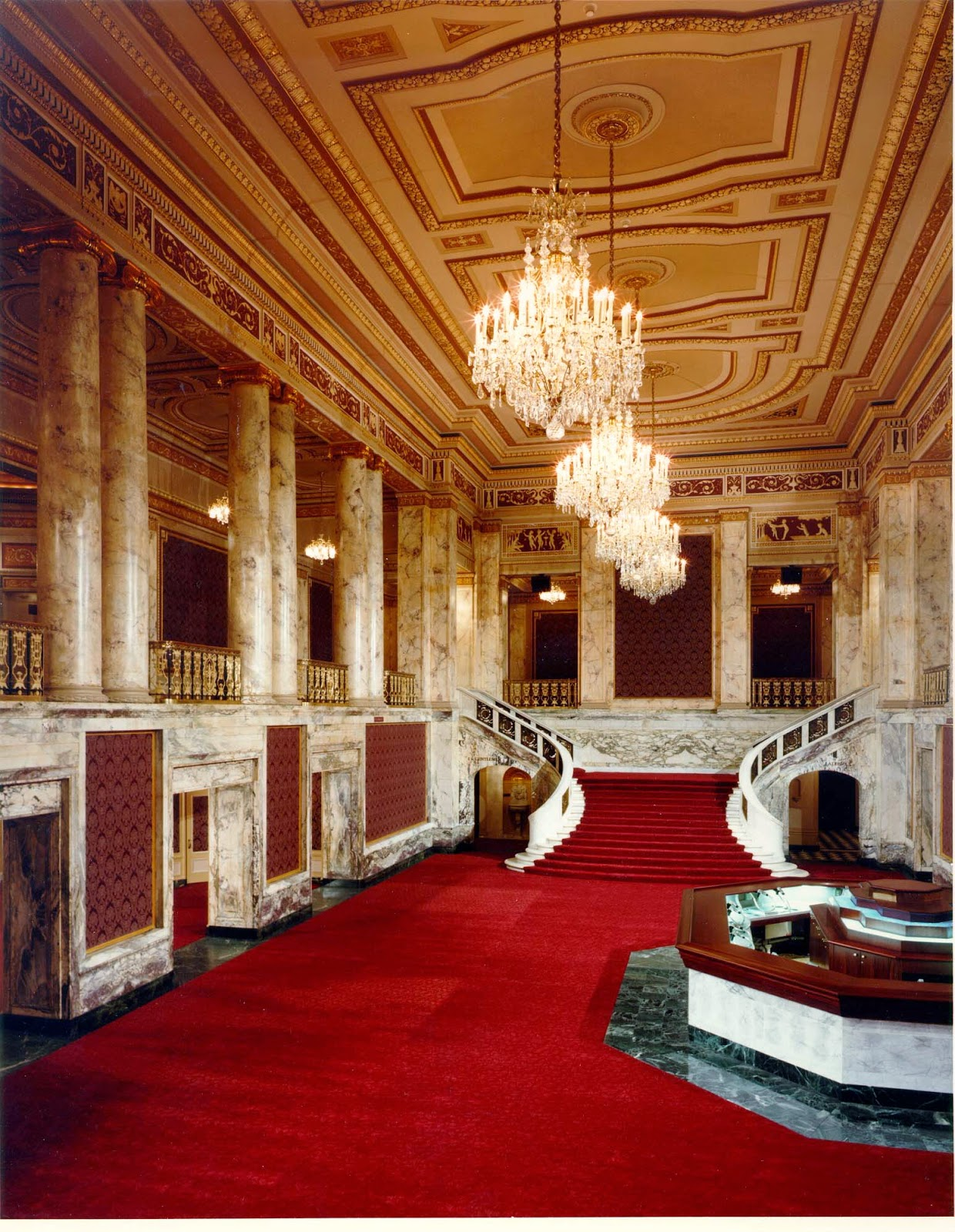 Cleveland Theater Lobby