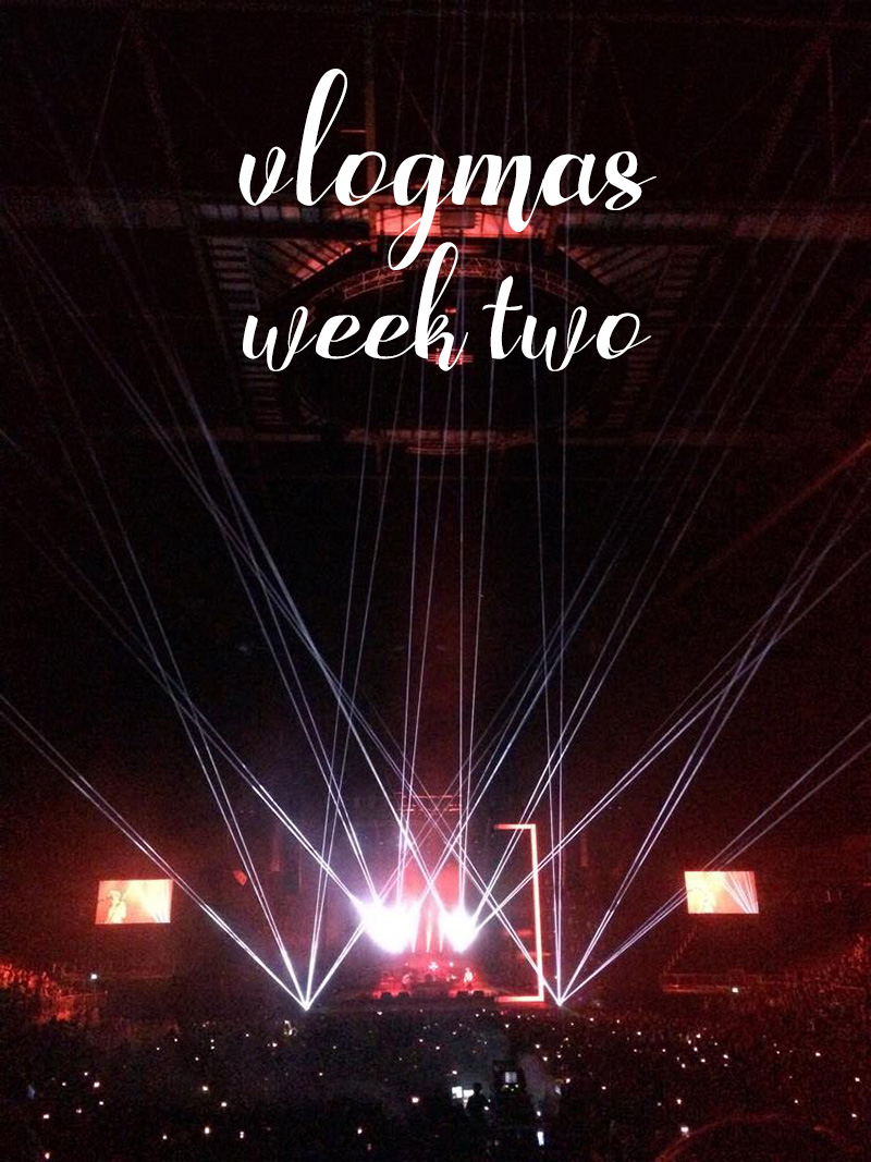 Vlogmas Week Two - London Hotel Room Tour, Brand New / Biffy Clyro & My Birthday
