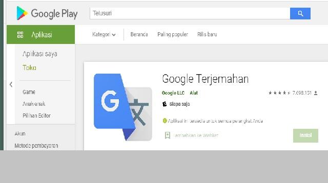 Cara Menggunakan Google Translate Offline